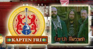 Kapten Fri och Earth Messiah på Ti Amo Scen i Stenungsund