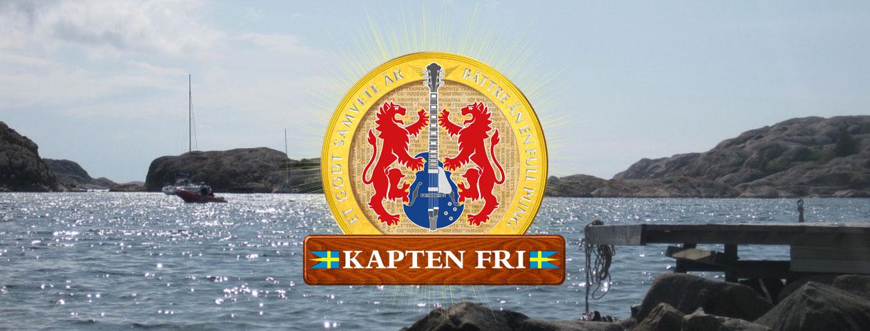 KAPTEN FRI MUSIK SVENSK ROCK