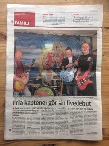 Kapten Fri i Tidningen Stenungsund, Tjörn och Orust