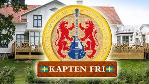 Kapten Fri spelar på Åstock-festivalen i Jordhammar, Stenungsund 26 augusti 2017
