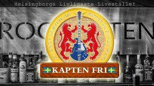 Kapten Fri spelar på Rockbåten i Helsingborg lördag 29:e juli 2017