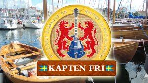 Kapten Fri spelar på Träbåtsfestivalen i Skärhamn 15-16 juli 2017