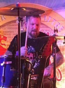 Patrik Orrmén i bandet Kapten Fri